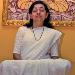 Photo of Ma in Meditation